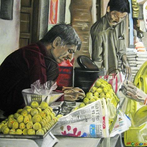 Buying Ladoo, Pushkar